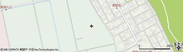 福島県会津若松市北会津町真宮(若宮)周辺の地図