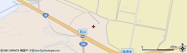 福島県会津若松市一箕町大字金堀(石山)周辺の地図