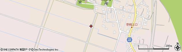 新潟県長岡市李崎町周辺の地図