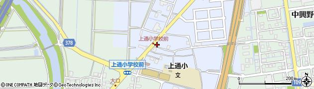 新潟県長岡市灰島新田周辺の地図