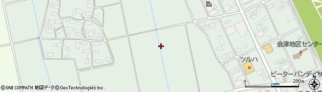 福島県会津若松市北会津町真宮(下ノ宮)周辺の地図