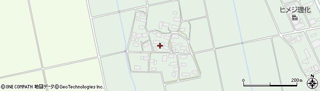 福島県会津若松市北会津町真宮(鈴渕)周辺の地図