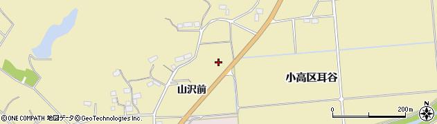 福島県南相馬市小高区耳谷山沢前周辺の地図
