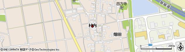 福島県会津若松市高野町大字上高野(村内)周辺の地図