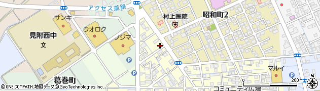 東北電力見附アパート周辺の地図