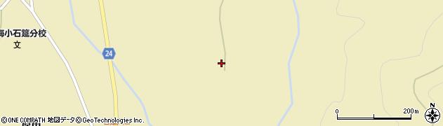 福島県郡山市熱海町石筵(東落合)周辺の地図