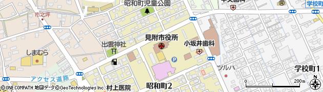 新潟県見附市周辺の地図