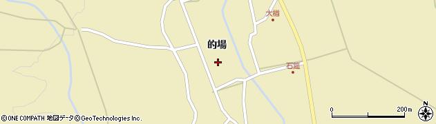 福島県郡山市熱海町石筵(的場)周辺の地図