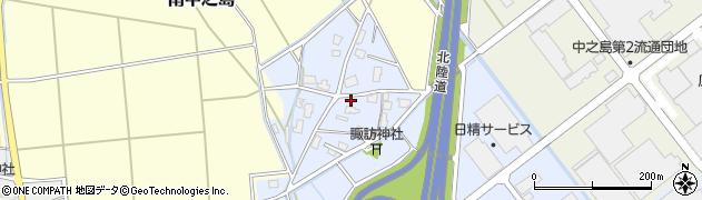 新潟県長岡市粕島周辺の地図