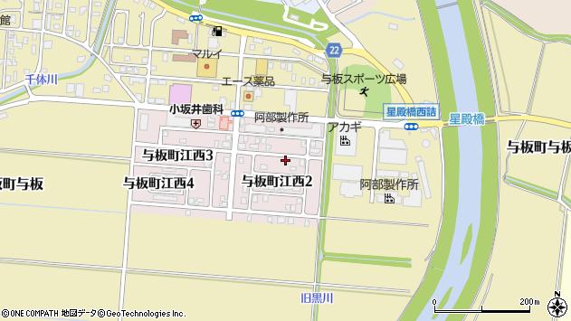 新潟県長岡市与板町江西 郵便番号 〒940-2406:マピオン郵便番号