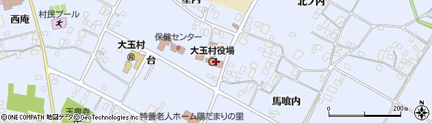 福島県安達郡大玉村周辺の地図