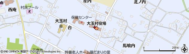 大玉村役場農業委員会 事務局周辺の地図