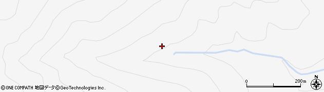 福島県郡山市熱海町中山(金山)周辺の地図