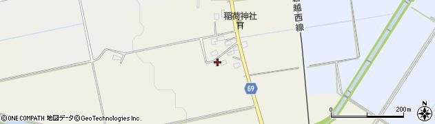 福島県会津若松市河東町倉橋(柳林丁)周辺の地図