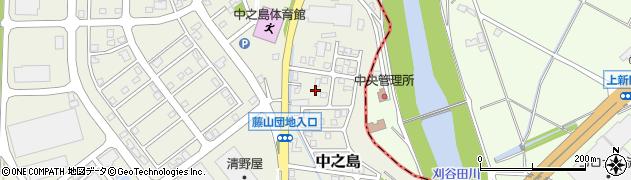 新潟県長岡市藤山周辺の地図
