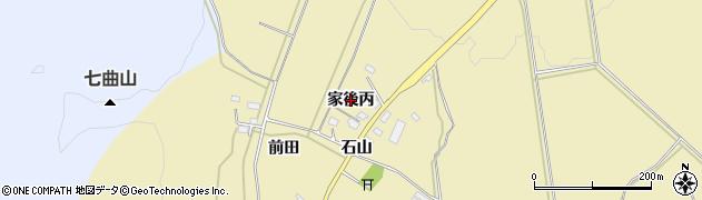 福島県会津若松市河東町八田(家後丙)周辺の地図