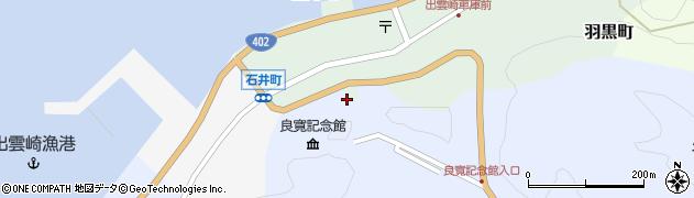 多聞寺周辺の地図