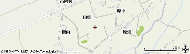 福島県南相馬市小高区上根沢田畑周辺の地図
