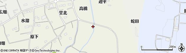 福島県南相馬市小高区上根沢田仲島周辺の地図