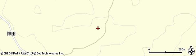 福島県二本松市田沢(前山)周辺の地図