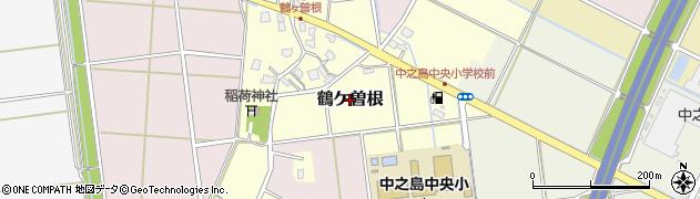 新潟県長岡市鶴ケ曽根周辺の地図