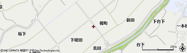 福島県南相馬市小高区小屋木榎町周辺の地図