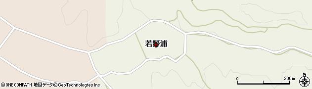 新潟県長岡市若野浦周辺の地図