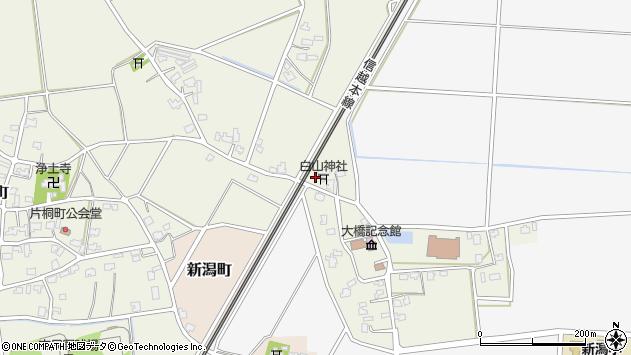 〒954-0007 新潟県見附市下鳥町の地図