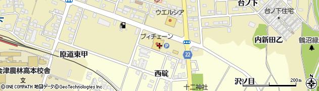 あひるの洗たく屋さんブイチェーン 坂下店周辺の地図