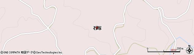 福島県二本松市戸沢(石塚)周辺の地図