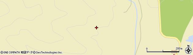 福島県郡山市熱海町石筵(忍滑沢)周辺の地図