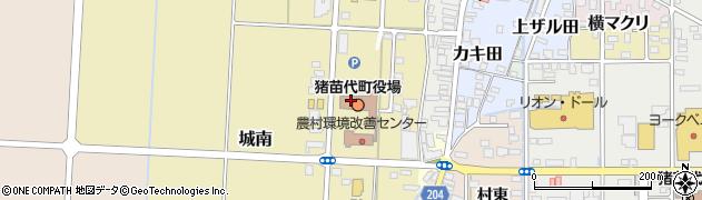 福島県耶麻郡猪苗代町周辺の地図