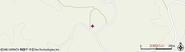 福島県二本松市上長折(暮坪)周辺の地図