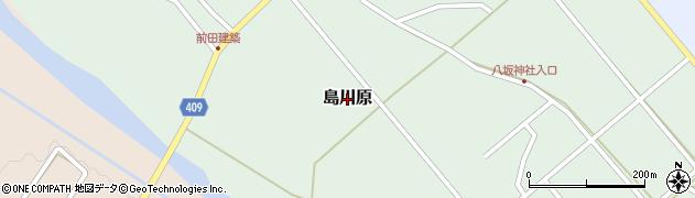 新潟県三条市島川原周辺の地図