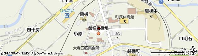 福島県耶麻郡磐梯町周辺の地図