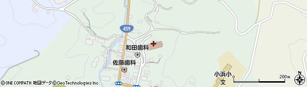二本松市役所岩代支所 地域振興課市民福祉係周辺の地図