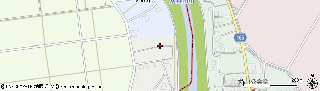 新潟県長岡市野口周辺の地図