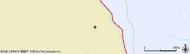 福島県郡山市熱海町石筵(麦平)周辺の地図