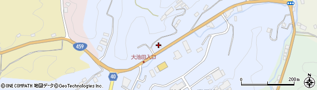 福島県二本松市西勝田(立坂)周辺の地図