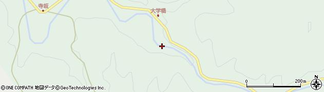 福島県二本松市太田(大久保山)周辺の地図