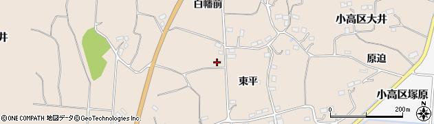 福島県南相馬市小高区大井妙見平周辺の地図