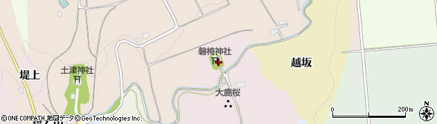 磐椅神社周辺の地図