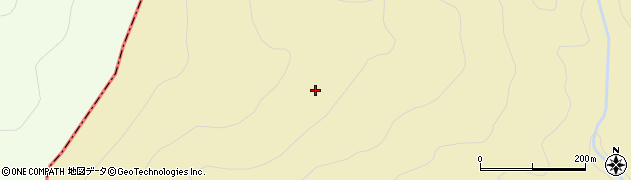 福島県郡山市熱海町石筵(大滝沢)周辺の地図