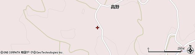 福島県二本松市戸沢(羽瀬石)周辺の地図