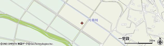 福島県南相馬市小高区片草西谷地周辺の地図