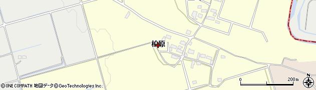 福島県会津若松市河東町大田原(柏原)周辺の地図