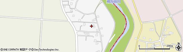 新潟県長岡市中西周辺の地図