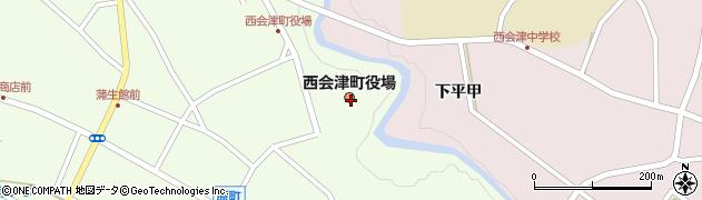 福島県耶麻郡西会津町周辺の地図