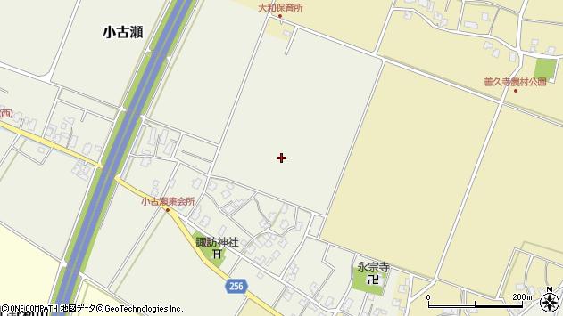 〒959-1126 新潟県三条市小古瀬の地図