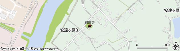 忍善寺周辺の地図